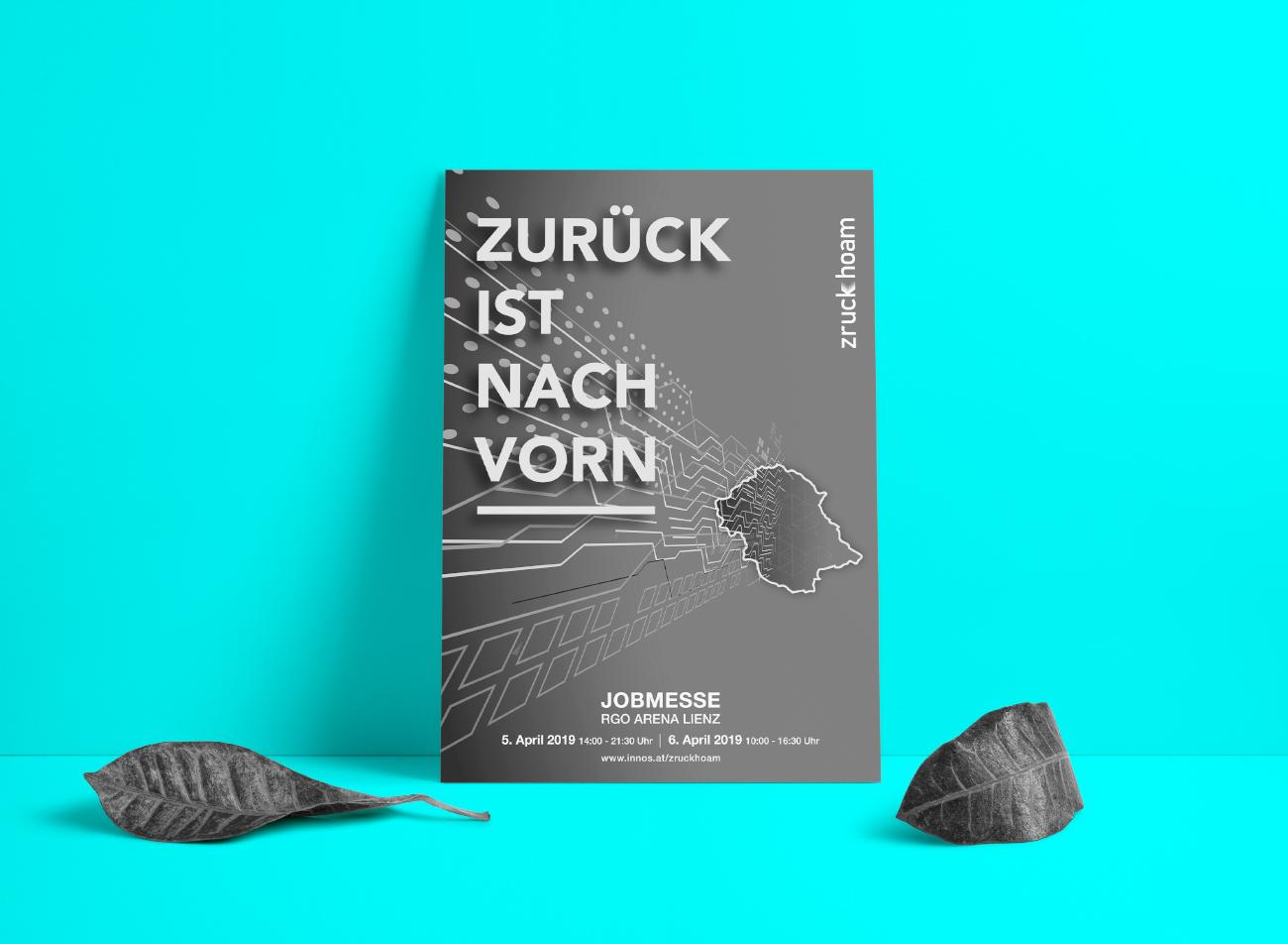 Zruck Hoam Plakat
