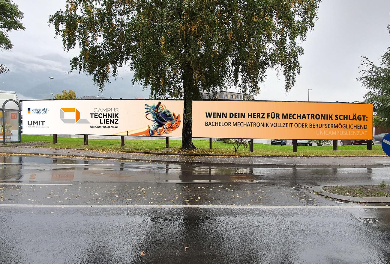 Banner Technik Campus Lienz