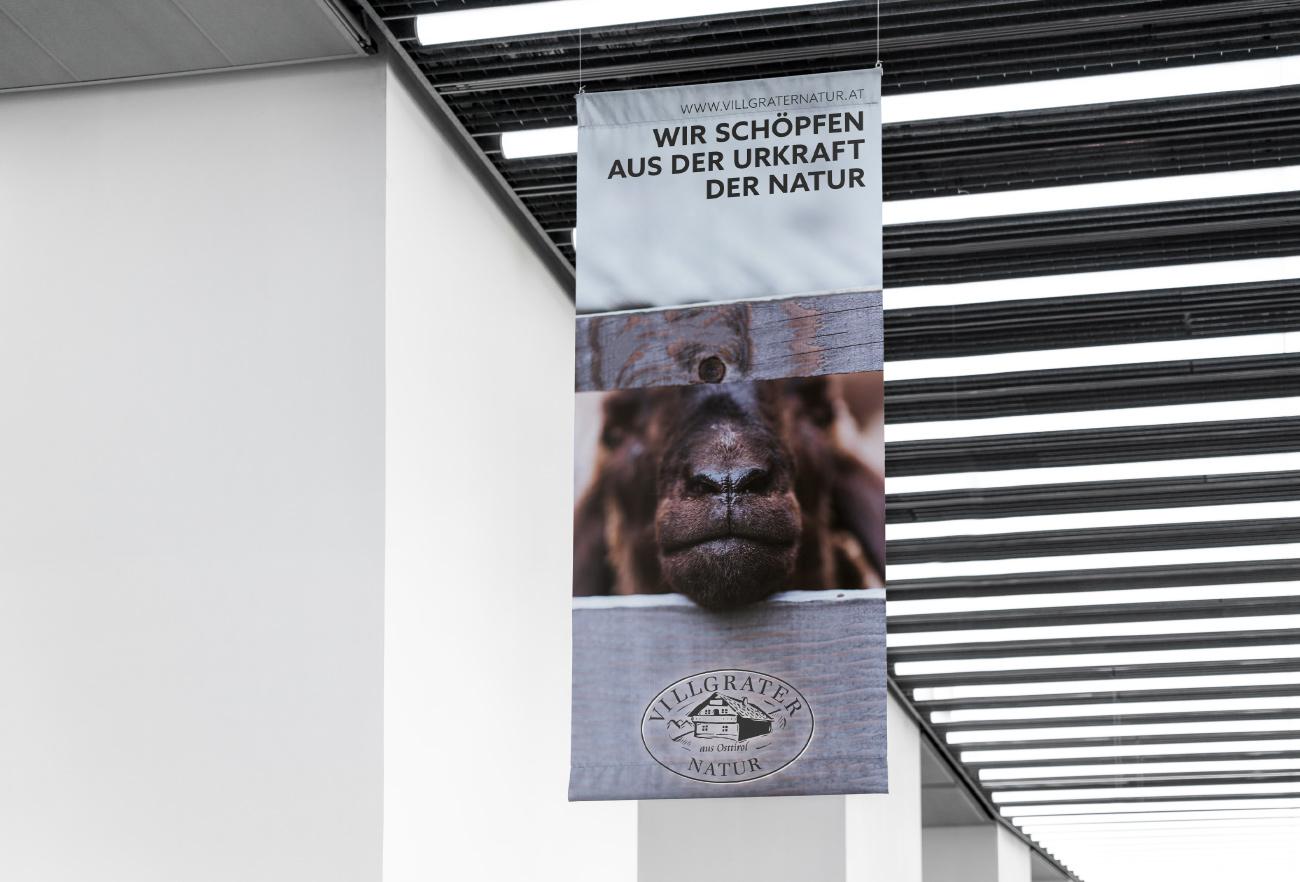 Banner Villgraternatur
