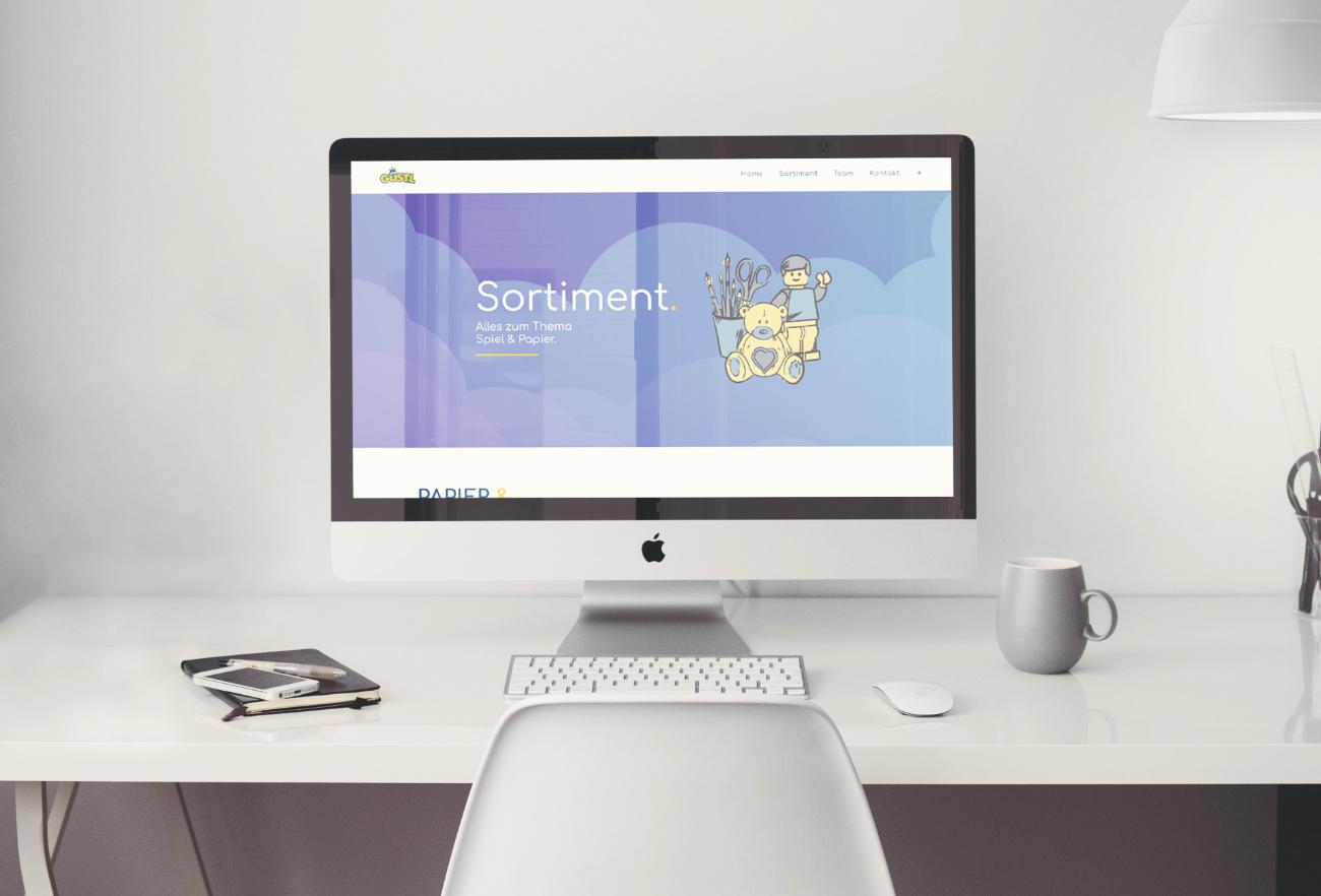 Papier Gustl Website