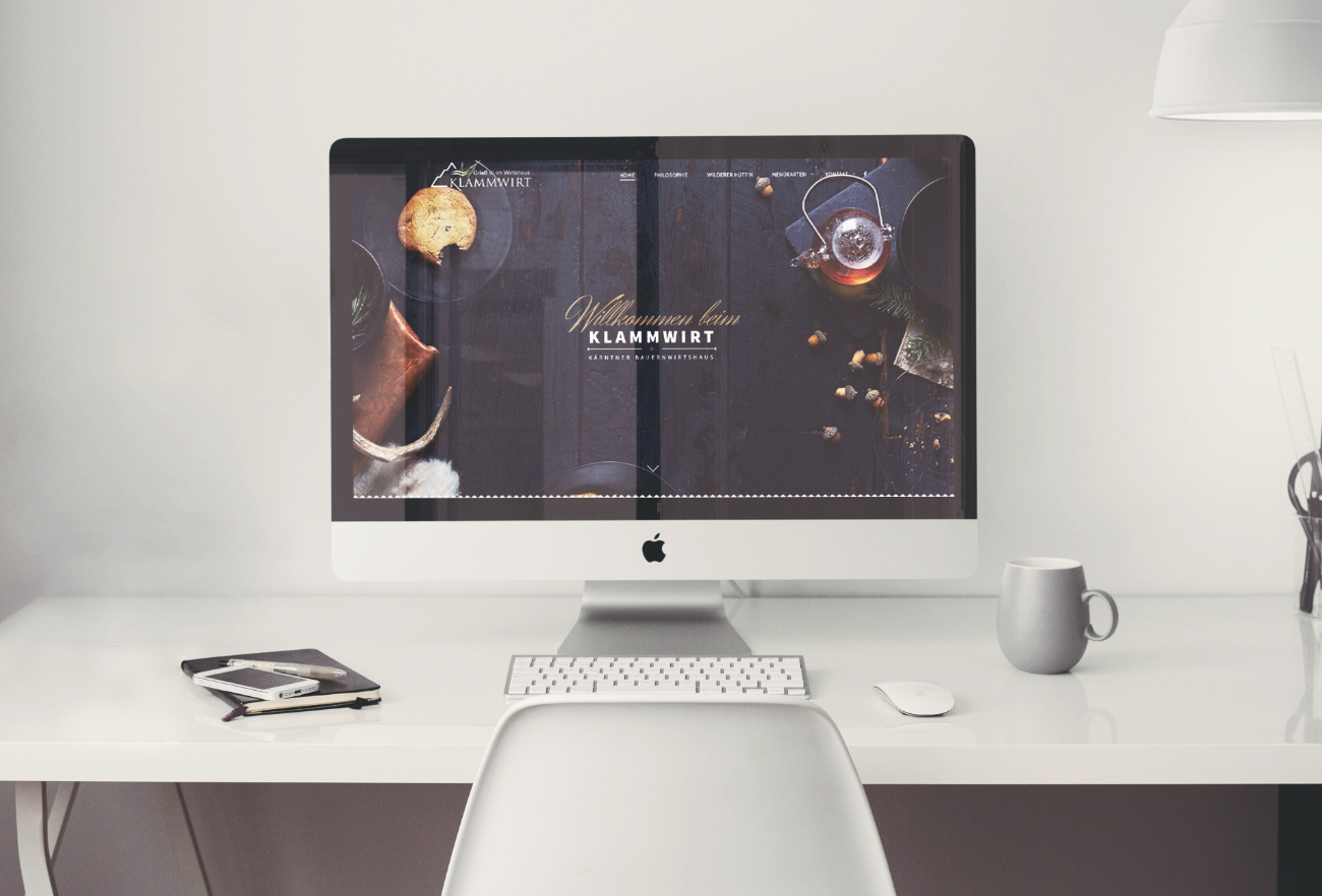 Klammwirt Website