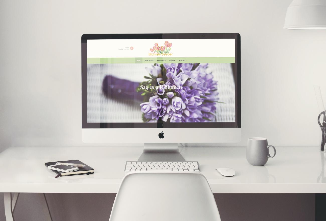 Blumen Seeber Website