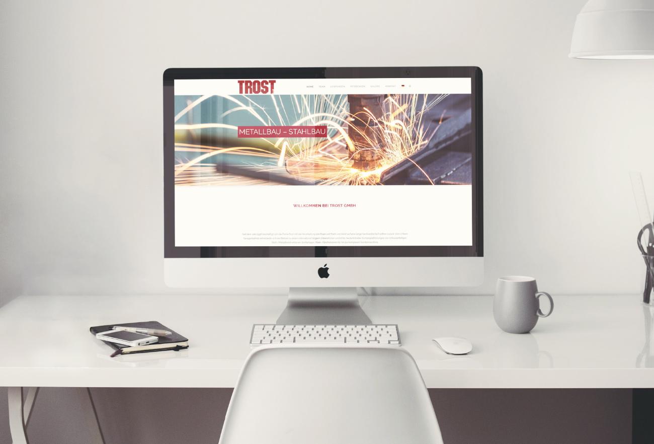 Trost GmbH Website