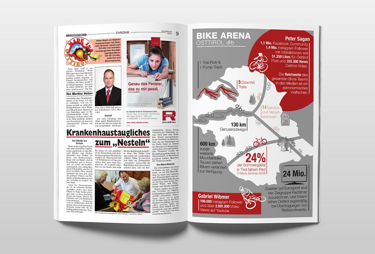 Infografik Osttiroler Radsport