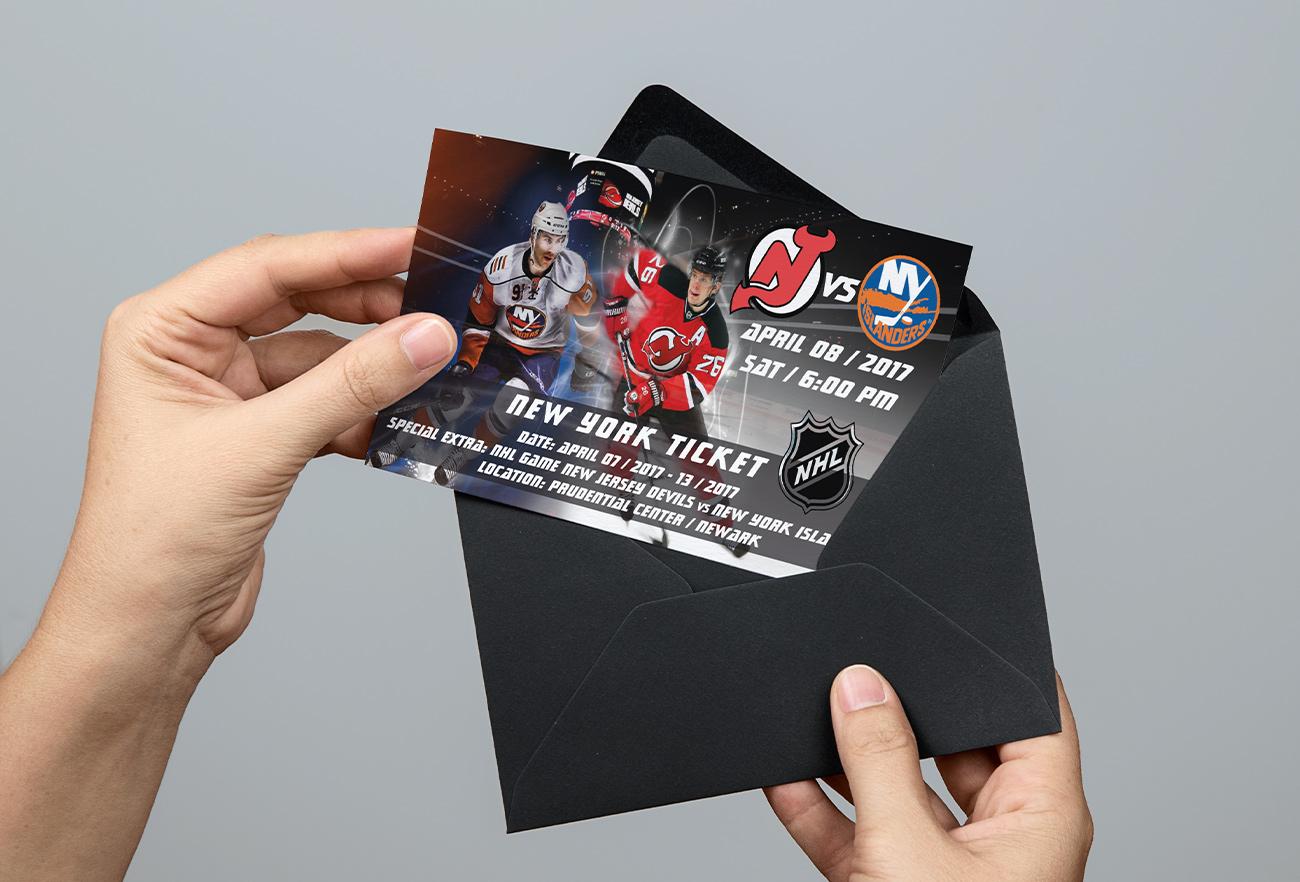 Ticket Eishockeyspiel