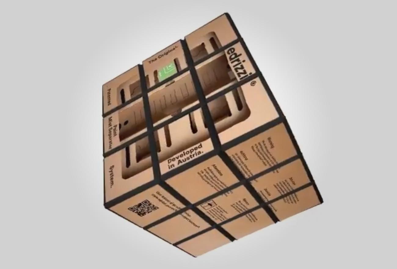 Edrizzi Rubik Cube Würfel